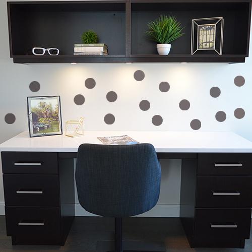 sticker pour d co d 39 int rieur autocollant rond. Black Bedroom Furniture Sets. Home Design Ideas