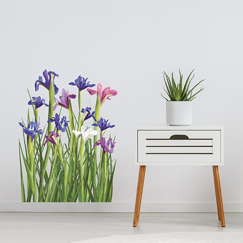 Adhésifs fleuris
