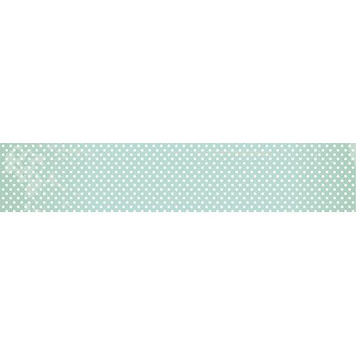 Sticker autocollant à pois blanc pour contremarches d'escaliers en tout genre