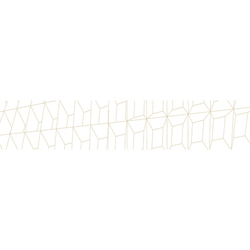 Sticker adhésif lingot blanc en 3D trompe l'oeil pour contremarches