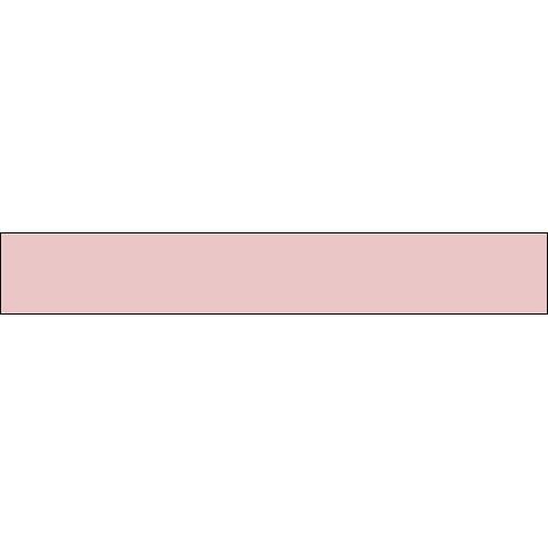 Sticker adhésif pour contremarche uni rose clair.
