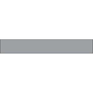 Sticker de contremarche d'escalier uni gris clair.
