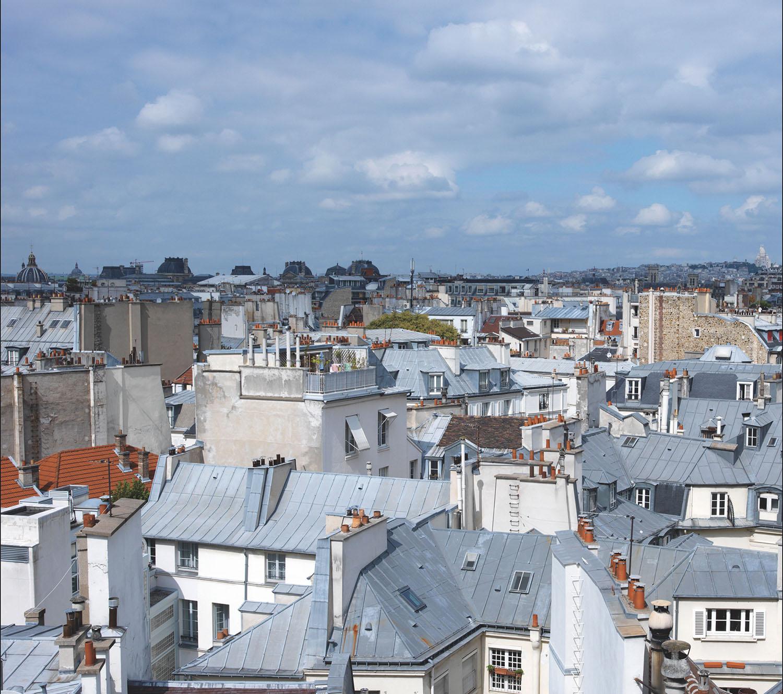 panoramique en trois bandes