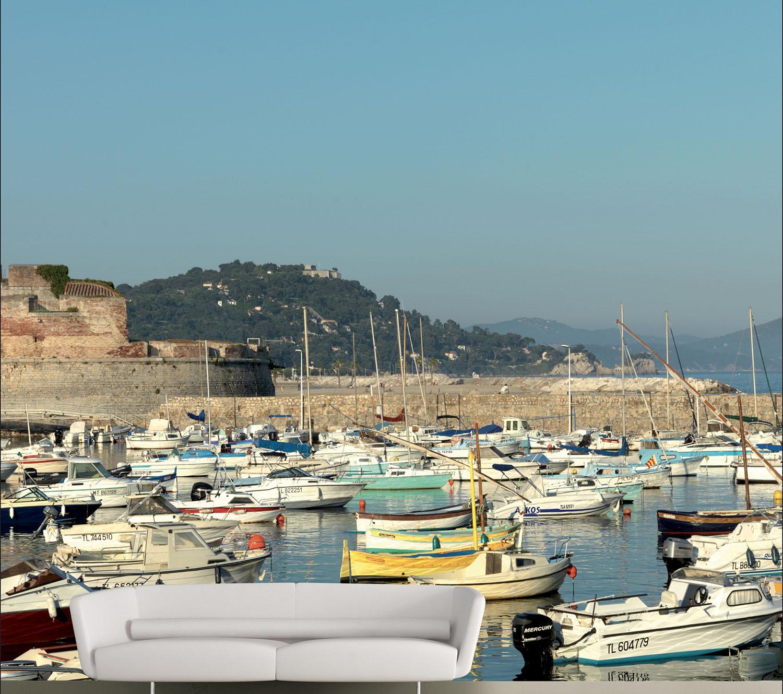 panoramique prêt à encoller pour égayer votre salon avec ce paysage grandiose du sud de la France