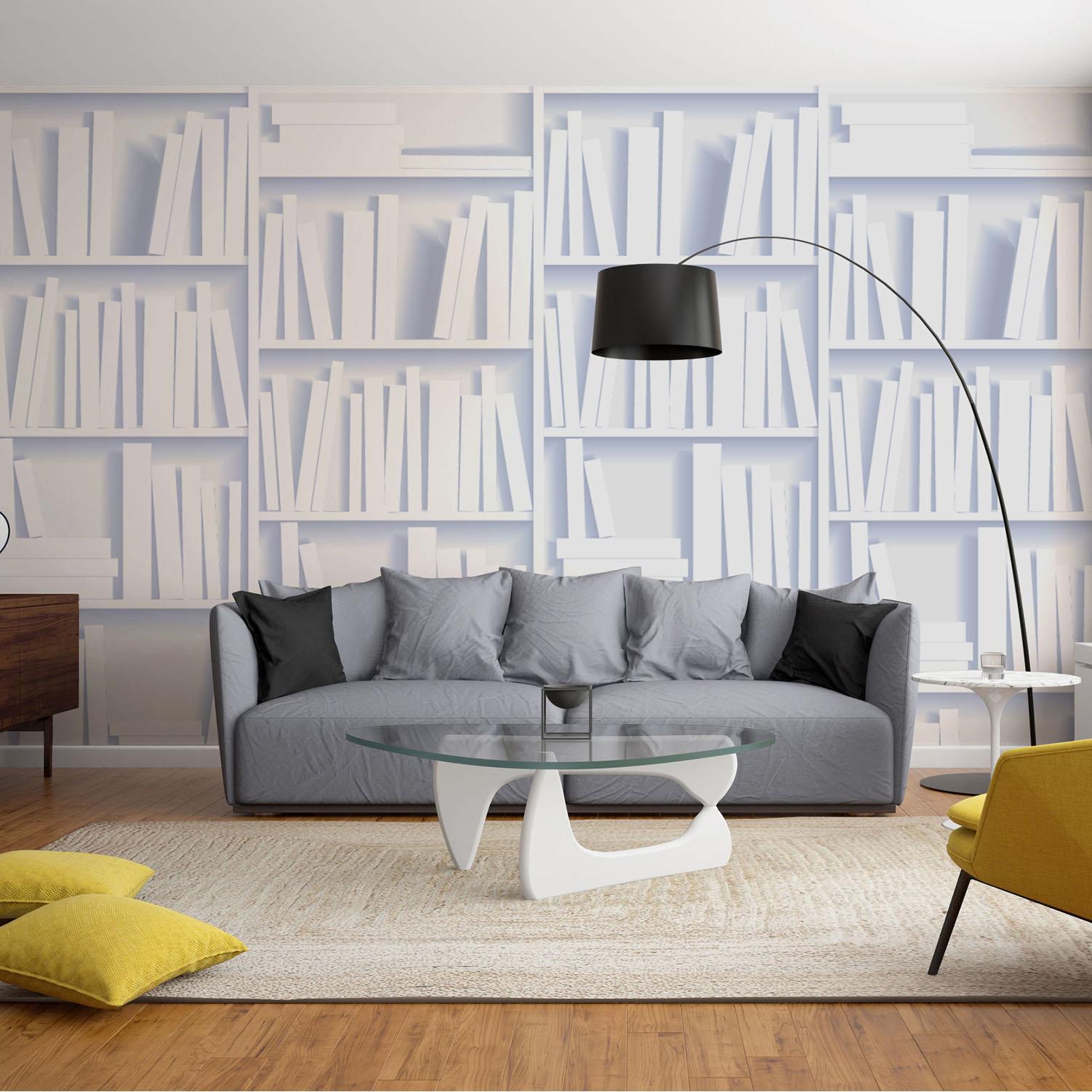 panoramique grand format en trois bandes de papier intissé