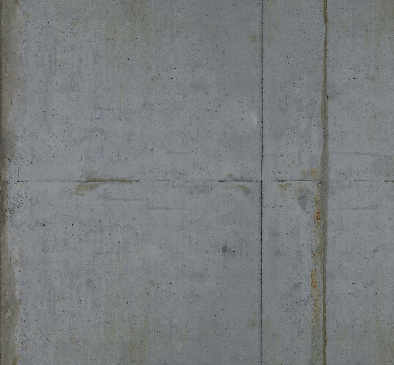Mur d'image béton ciré