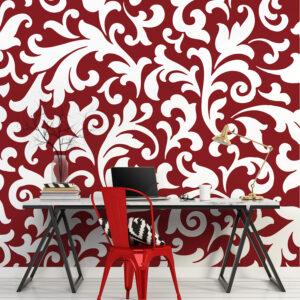 Mur d'image en papier intissé
