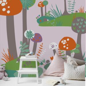 panoramique décoratif à coller pour enfant