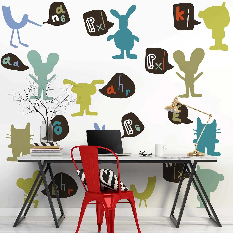 Visuel mural décoratif pour enfant