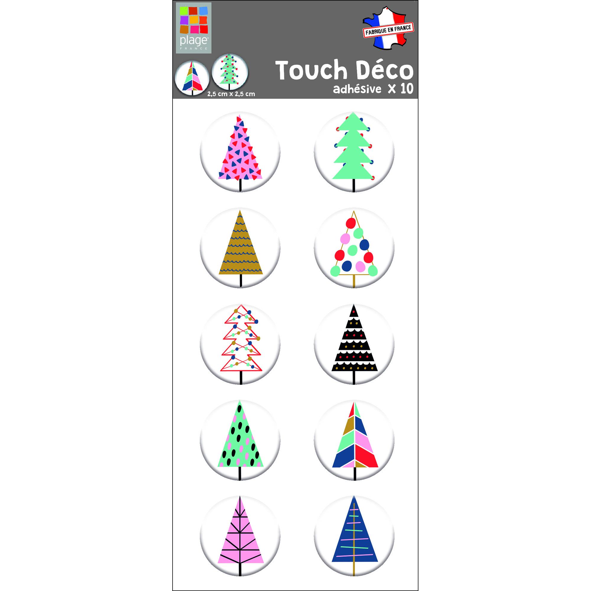 déco relief 3D arbre de Noël