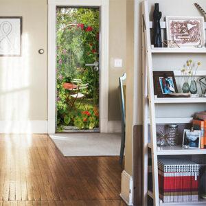 Faites apparaître la nature dans votre entrée avec ce sticker pour porte qui se mariera très bien avec votre intérieur