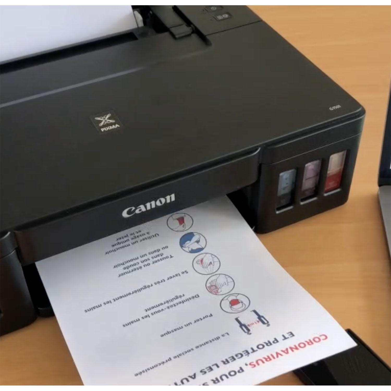 comment imprimer sur une feuille de textile adhésive