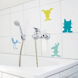 Sticker mural Animaux pour carrelage