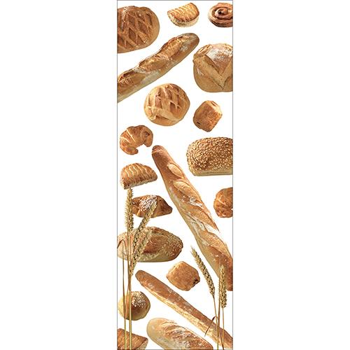 Sticker décoratif autocollant pour grand frigo décoration modèle Boulangerie