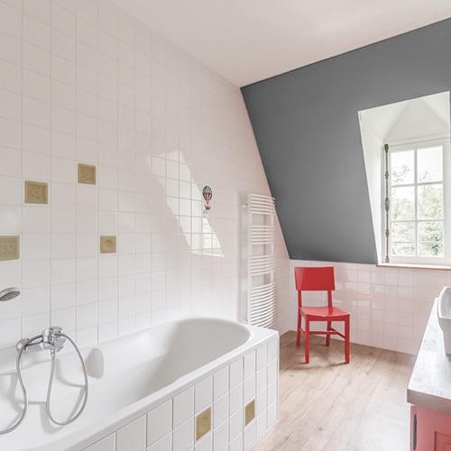 sticker autocollant Savons dans une salle de bain