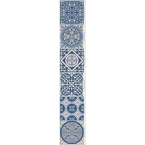 Stickers autocollants ciment bleu