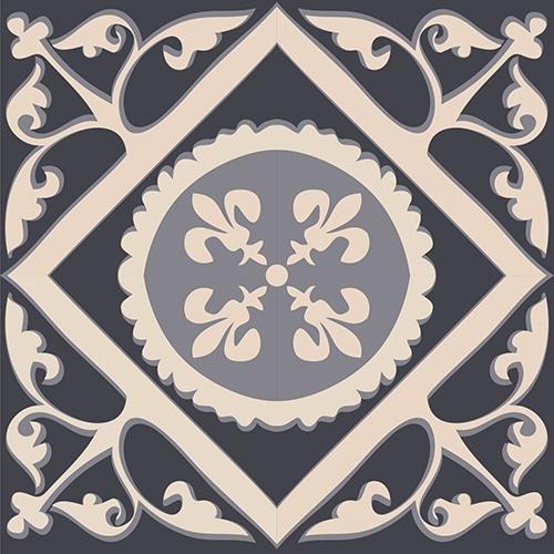 Sticker autocollant ciment gris pour décoration carrelage