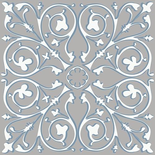 Sticker adhésif décoratif imitation ciment couleur souris