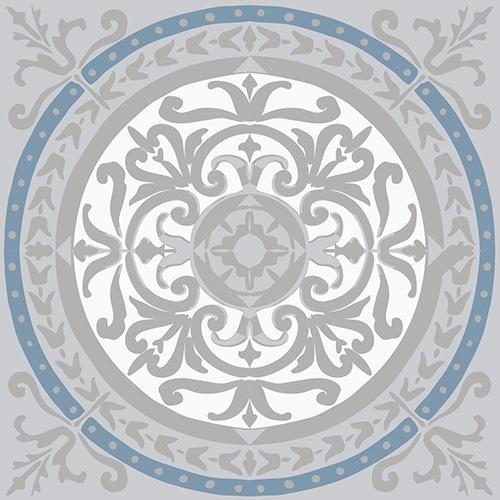 Sticker adhésif Carrelage Carreaux de Ciment Souris