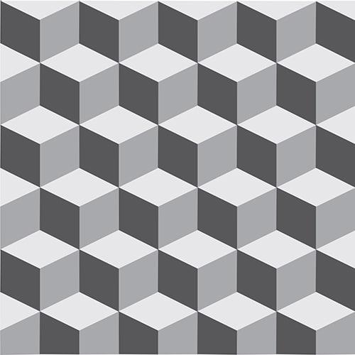 Autocollant ciment gris pour décoration carrelage blanc de cuisine