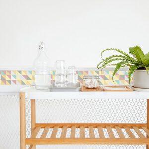 Sticker Scandinave Pastel pour salle à manger