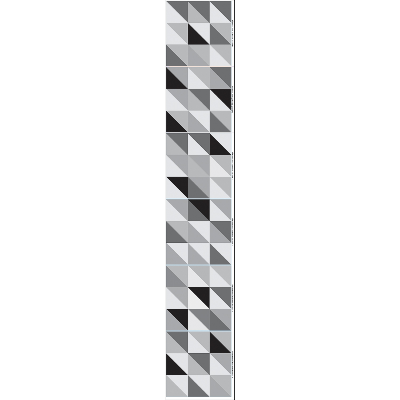 Sticker Scandinave Noir et Blanc pour carrelage