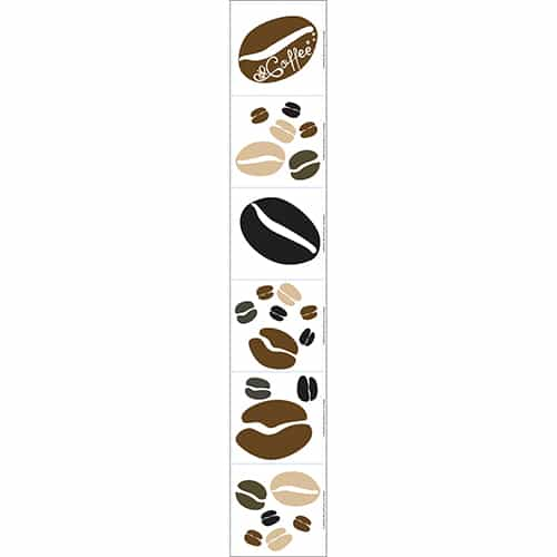 Sticker Coffee Time pour décoration intérieur