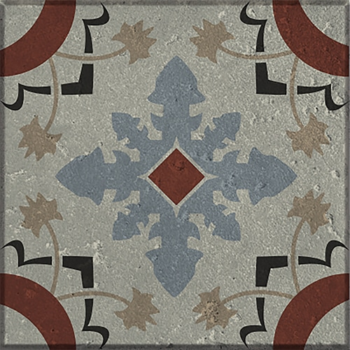 Sticker autocollant gris collection Ozzano pour carrelage mural