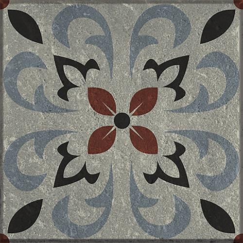 Sticker autocollant décoratif gamme Ozzano gris pour carrelage mural