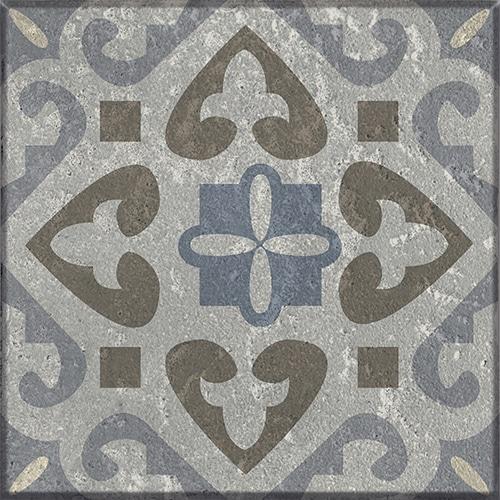 Sticker adhésif gris Borgatella pour carrelage mural