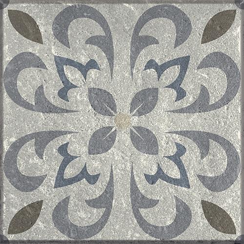 sticker autocollant gris déco pour carrelage mural collection Borgatella
