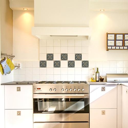Sticker adhésif effet Carrelage Celletta dans une cuisine