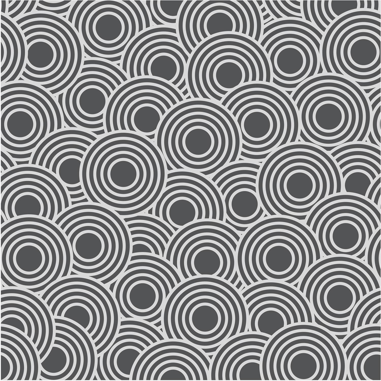 déco carrelage adhésif géométrique noir et blanc