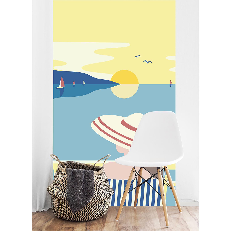 panoramique papier intissé bain soleil